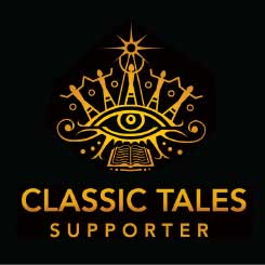 Classic Tales Logo and Support Badge